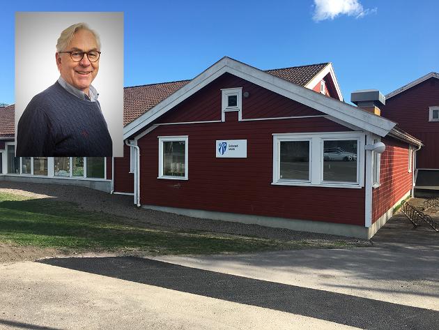 MÅ PRIORITERES: Solerød skole benytter Dalheim forsamlingshus som gymsal, skriver Henning Wold.