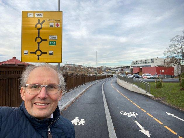 VEI: Behovet for ny asfalt er stort i fylket vårt, skriver Terje Riis-Johansen.