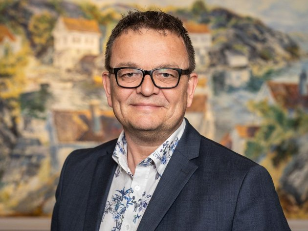 Rune Hagestrand, leder av Jernbaneforum Sør