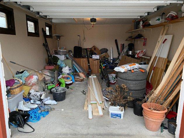 DET STORE ENERGISLUKET: Bare muligheter, eller bare dårlig samvittighet, når garasjen ser slik ut?