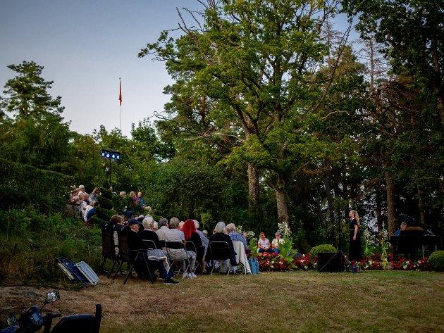 KONSERT UNDER FULLMÅNEN: Måneskinnssonaten under Midtåsen kulturfestival fredag 23. juli.