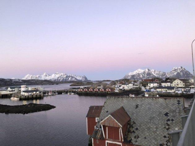 Økonomisk støtte: Svinøya i Svolvær, Lofoten. Ved Svinøya rorbuer bruker eier og ansatte tiden til restaurering, med økonomisk støtte fra Kulturminnefondet.
