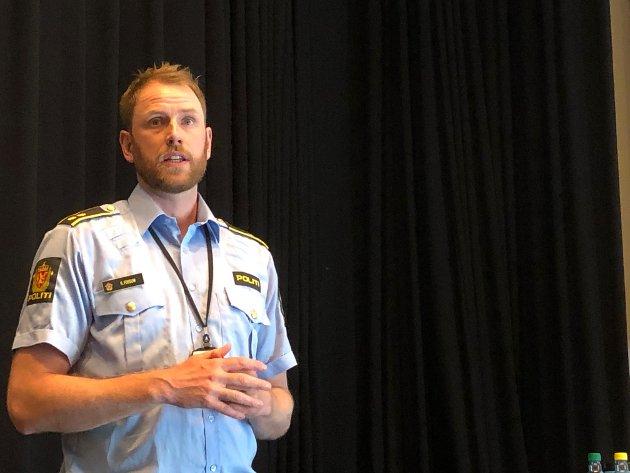 Rune Fossum, politikontakt i Vestby.