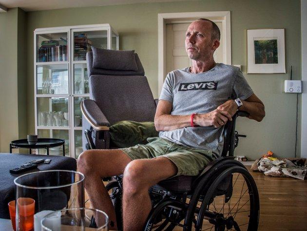 Gjennom flere saker i Fredriksstad Blad i fjor høst fortalte ALS-syke Geir Rugsveen Engen om hvordan han opplevde møtet med både sykehuset og kommunen. Geir døde i vår.