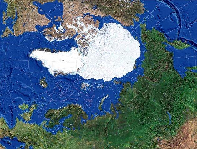 Nordområdene: Nordområdene, som består av Nord-Norge og Arktis, er et av Norges viktigste, strategiske ansvarsfelt.