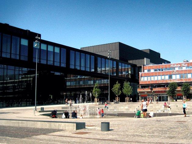 Hamar - kulturhuset - Stortorget