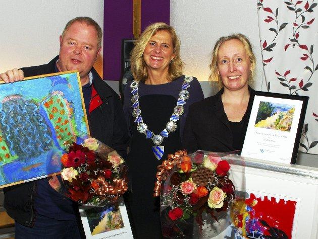 VERDIG: Bjørn Sundin ble tildelt Frivillighetsprisen og Sophia Blum Kulturprisen.Foto: Per Zaring