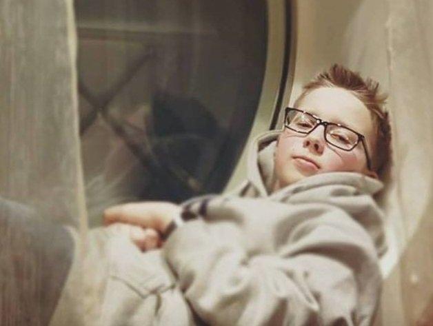 Mikael Larsen er elev på Presterød ungdomskole i Tønsberg