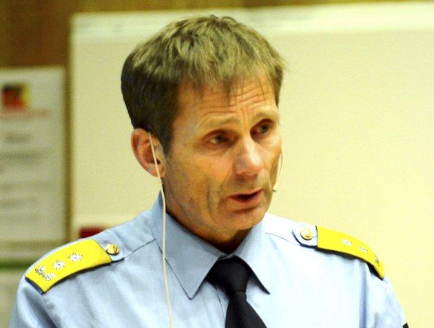 Flyt: Politimester Johan Brekke må sørge for at andre myndigheter  tilflyter informasjon.