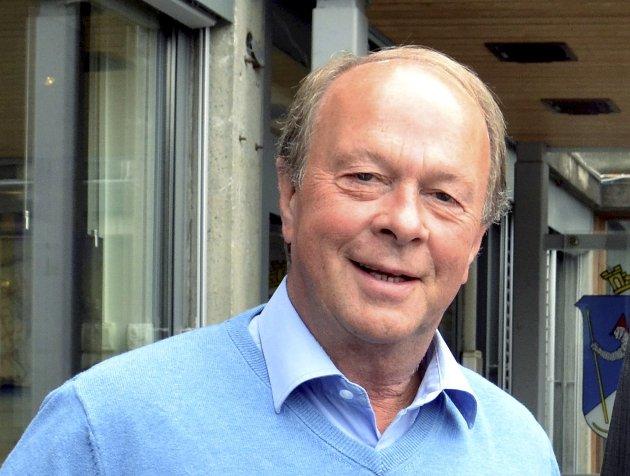 AVGANG: Styreleder Halvor Møllerløkken går av som styreleder i Lillehammer Skifestival as. Han har holdt Lillehammer kommune orientert om selskapets vaklende økonomi.