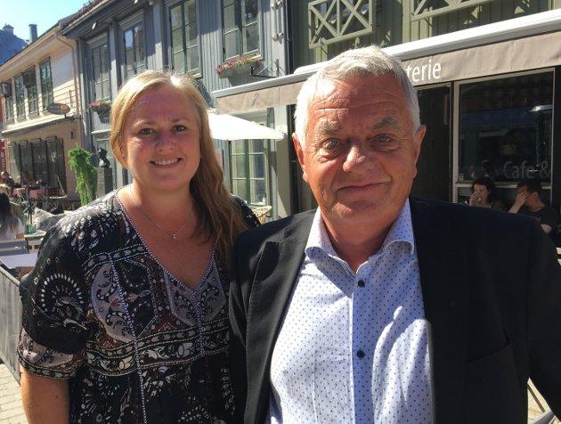 MAKT I FRP: Wenche H. Almestrand og Olaf Diserud får sentrale roller i Innlandet Fremskrittsparti.