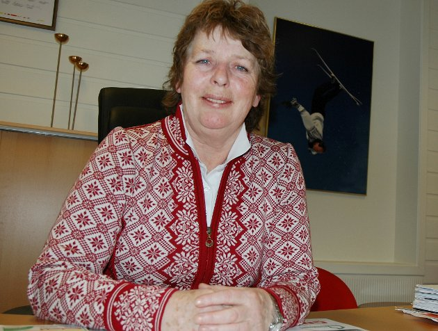 Endring: Ordfører Brit K. Lundgård har endret arbeidsmåte. Det tjener henne til ære.Arkivfoto