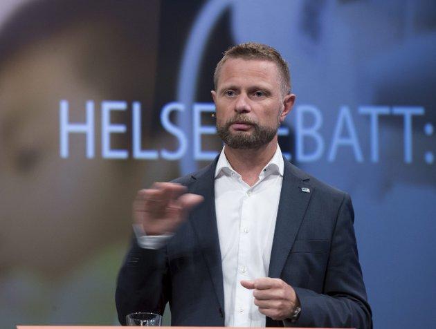 AVKLART: Helseminister Bent Høie vil gi grønt lys for Mjøssykehuset. Nå også med ny utrykningsbase i Mjøsområdet?