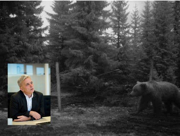 Forvaltning: Fylkesmann Knut Storbrget må sørge for at rovdyrberedskapen er god nok.