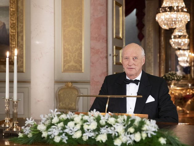 TAKK: Kong Haralds taler imponerer og gir retning for samfunnsdebatter.