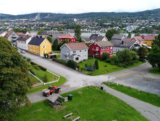 UNIK: Vingens er en bydel i utvikling i Lillehammer. Dens unike profil må ikke ødelegges.