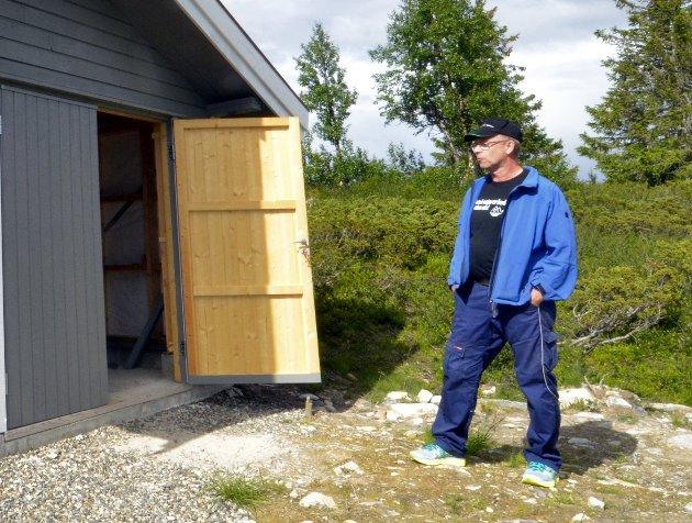 Anders Ledum vil bygge dass ved Goppollvatnet, men sliter med å få lov.Foto: Halvor Torgersrud