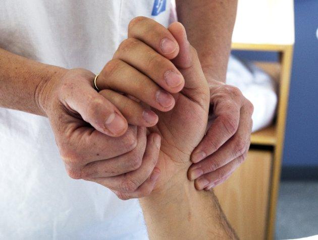 BEHANDLING: Pasienter som trenger menneskelig kontakt, vil gå en fattigere tid i møte.