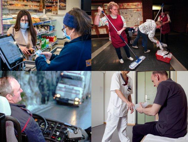 ARBEIDSLEDIGHET: Det haster med å finne nye løsninger, når arbeidsledigheten fordobles.