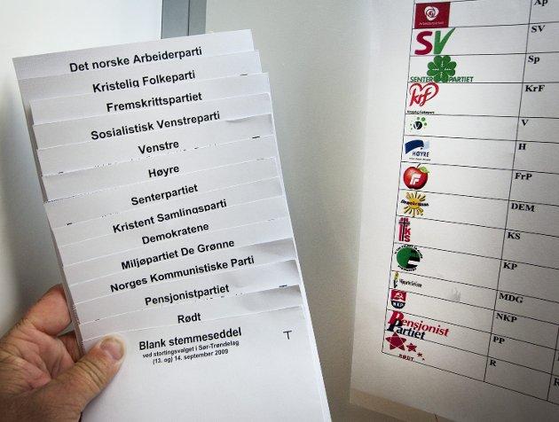Kamp: Ap gjenvinner velgere fra Sp, og Sp forsyner seg grovt av det som var KrF og Venstres velgere.Foto: NTB