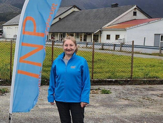 Ragnhild Tvedt, leiar i Kvinnherad INP.