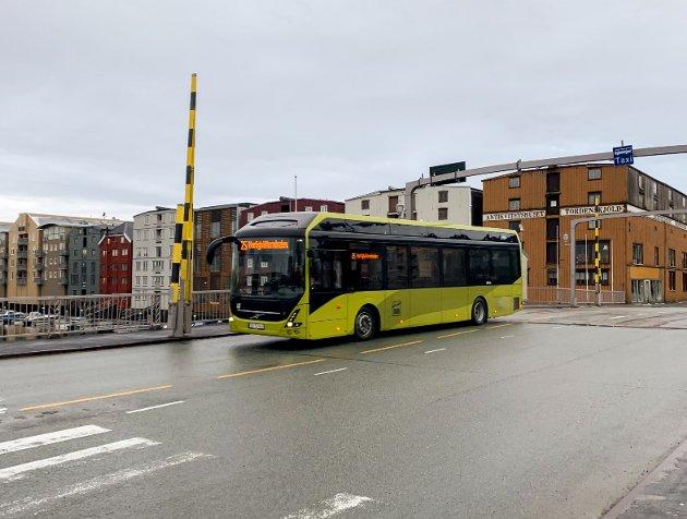 Illustasjonsfoto buss i Trondheim