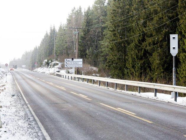 Effektiv: Statens vegvesen kan melde om betraktelig lavere hastighet på Kompveien etter at streknings-ATK ble iverksatt i desember 2015.
