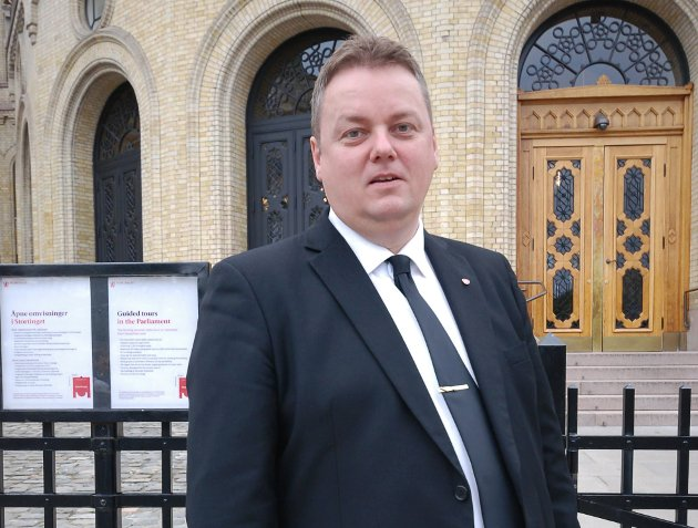 POSITIV: Rune Sjåstad peker på det positive ved at Berlevåg får satse.