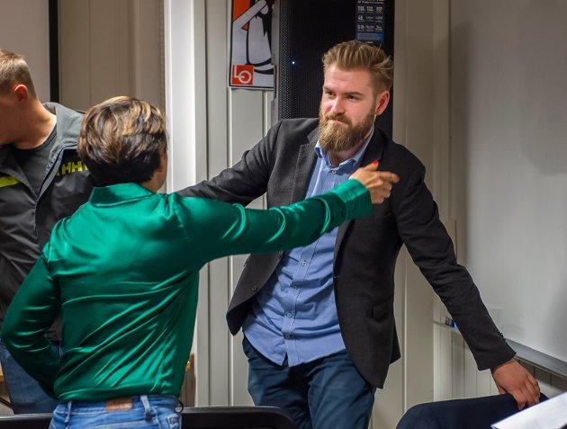 FØRSTEKANDIDAT: Stian Olafsen (25) gikk av med seieren i nominasjonskampen i Vestre Toten Arbeiderparti.