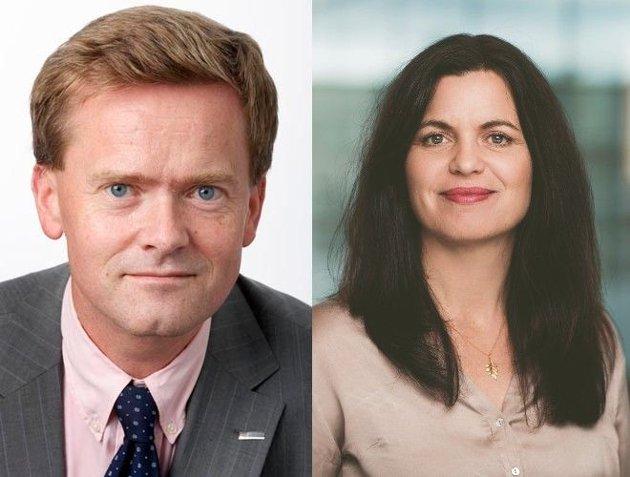 Hjulene på bussen må holdes i gang, det er viktig for reiseliv og arbeidsplasser, påpeker Jon H. Stordrange, administrerende direktør i NHO Transport, og Nina Solli, regiondirektør i NHO Viken Oslo.