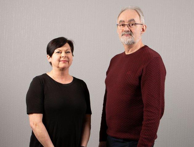 Rita Tonning 2. kandidat og Geir Oldeide 1. kandidat for Raudt