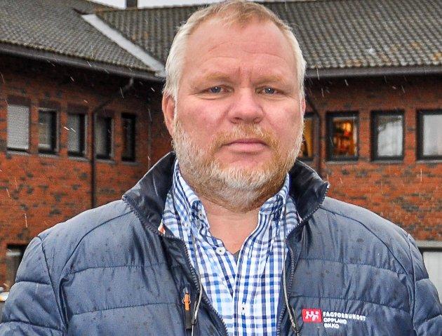 Hovedtillitsvalgt: I Gran kommune, Finn Hvalsbråten.