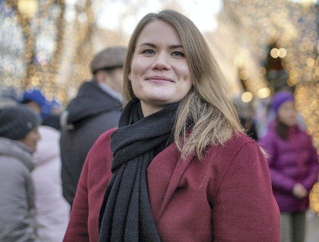 Tanker: Helene Birkeland Kleppestø i Haugesund deler noen tanker om pandemien, sett fra Haugalandet.