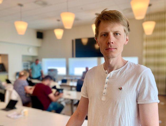 Stephan Øren er 3. kandidat for partiet Raudt i Sogn og Fjordane.