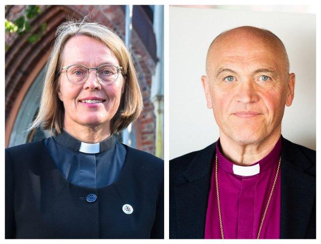 ARTIKKELFORFATTERE: Marta Botne, domprost og Jan Otto Myrseth, biskop