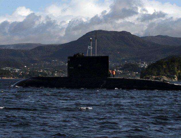 – Norske myndigheter forutsetter at allierte fartøy ikke har atomvåpen om bord ved anløp i norsk hav. De kan ikke inspisere farkostene for å se om det blir respektert, de har nemlig diplomatisk immunitet. ILLUSTRASJONSFOTO: MARIT HOMMEDAL, NTB