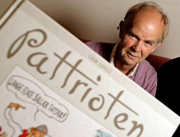 Fredriksstad Blads mangeårige avistegner Jørn Grynnerup gikk ut av tiden lørdag 15. august.