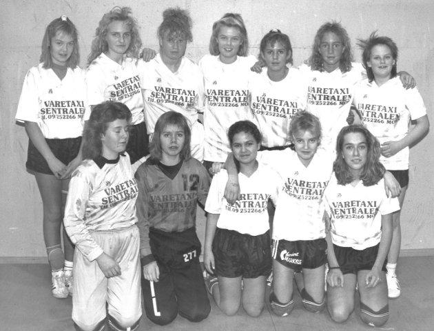 Øreåsen IL piker-14, 1989-1990.