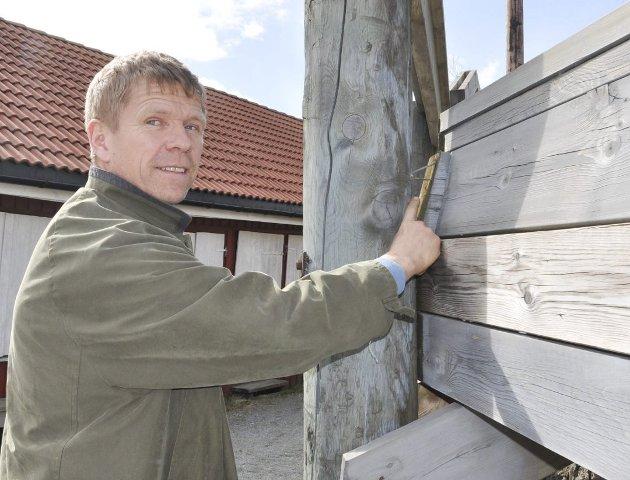 Lars Sæther, ordførerkandidat Skiptvet Ap