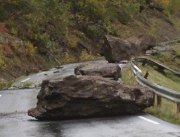 RISIKO: Bildene fra Bøverdalen sier oss noe om at noen lever med en ekstra risiko.Foto: Privat