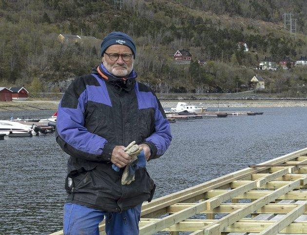 Kjell Jostein Sandvik: Leder i småbåtlaget. (Arkiv)