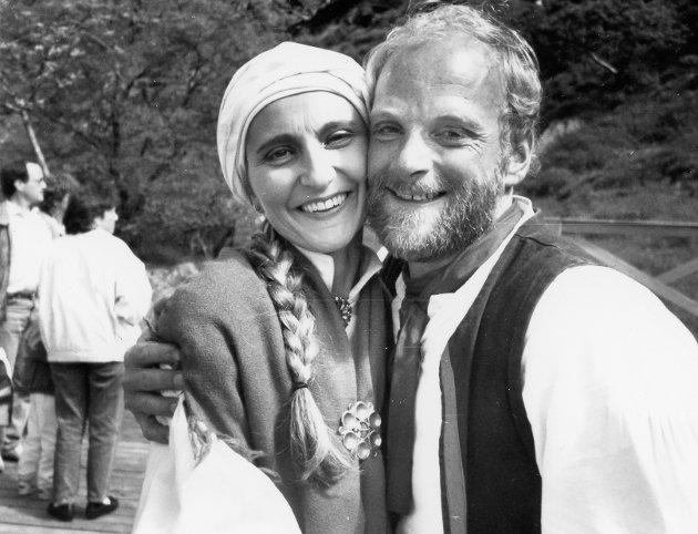Alf Jansen og Gro Ann Uthaug, Kinnaspelet 19. juni 1991