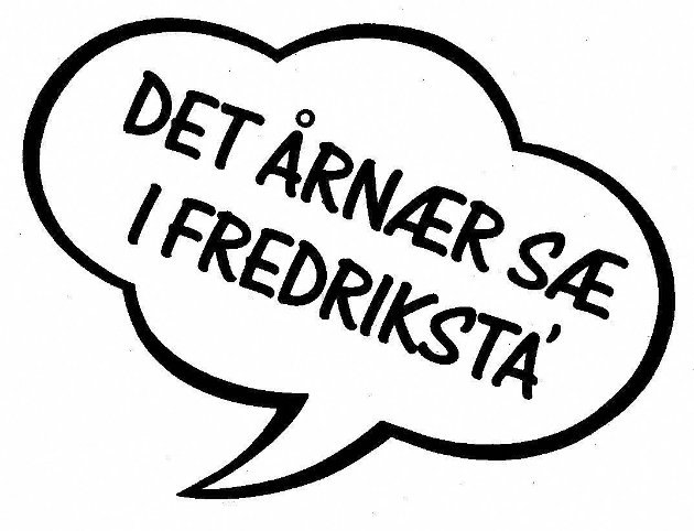 – I min by «årnær det sæ»!Sånn er det med den saken, og det er jeg veldig stolt av, forklarer Tore Helminsen.