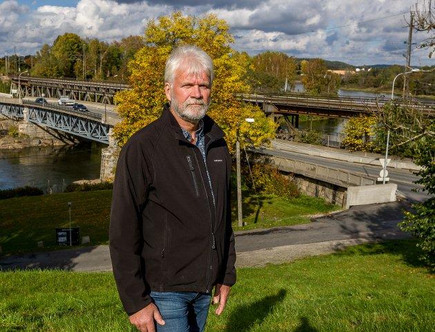 Svein Larsen, gruppeleder i Sarpsborg Arbeiderparti, skriver at Intercity-prosjektet gjennom Østfold og den nye Skagerrak-korridoren er to ulike konsepter som retter seg mot to ulike transportutfordringer. (Foto: Johnny Helgesen)