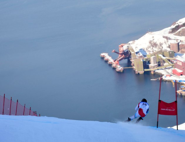 Bildet er fra NM i alpint i vår.