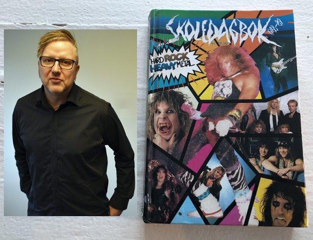 PUDDEL: Tom Erik Rønningen er journalist i Tønsbergs Blad og var i sin tid veldig glad i puddelrock.