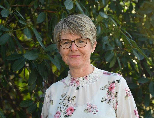 Britt Helene Skau-Nilsen, leder av KrF Kvinner Vestfold og Telemark