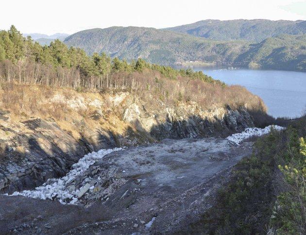 Sørheim og Jacobsen ønsker ikke et deponi for farlig avfall på Rausand. Arkivfoto