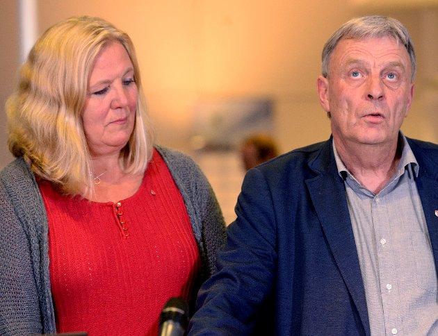 FRAM OG TILBAKE: Arbeiderpartiet og Lillian Skjærvik faller på Østlendingens meningsmåling, mens Arnfinn Uthus (Sp) ville vært ordfører om det var valg nå.
