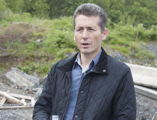 SOLID: Styreleder Jens Lillegraven i Røykenbadet KF legger fram solide tall etter snart ett år med drift.